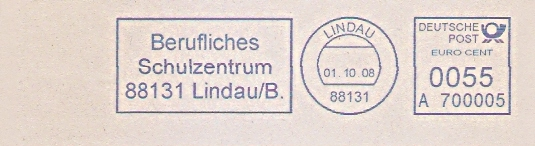 Freistempel A700005 Lindau - Berufliches Schulzentrum (#528)