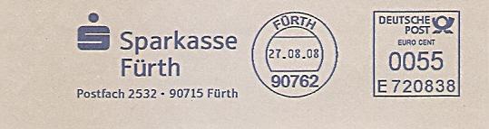 Freistempel E720838 Fürth - Sparkasse Fürth (#529)