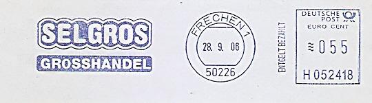 Freistempel H052418 Frechen - SELGROS GROSSHANDEL (#531)
