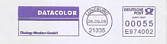 Freistempel E974002 Lüneburg - DATACOLOR Dialog-Medien GmbH (#533)