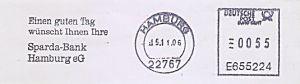 Freistempel E655224 Hamburg - Sparda-Bank Hamburg eG (#564)