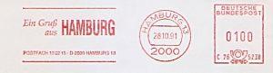 Freistempel C76 5238 Hamburg - Ein Gruß aus Hamburg (#607)