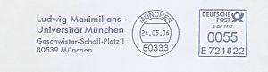 Freistempel E721622 München - Ludwig-Maximilians-Universität München (#615)