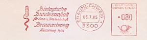 Freistempel Braunschweig - Biologische Bundesanstalt für Land- und Forstwirtschaft (Abb. Getreideähre) (#641)