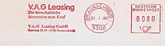 Freistempel Braunschweig - VAG Leasing - Die wirtschaftliche Alternative zum Kauf (#672)