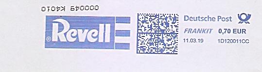 Freistempel 1D120011CC - Revell (#676)
