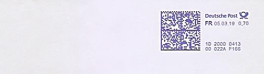 Freistempel 1D20000413 (Kein Werbeklischee !) (#681)