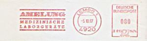 Freistempel B81 1474 Lemgo - Amelung - Medizinische Laborgeräte (#734)