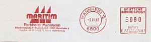 Freistempel E22 2487 Mannheim - MARITIM Parkhotel Mannheim (#739)