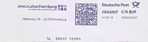 Freistempel 1D20000007 Hamburg - aescu Labor Hamburg - ein Labor der amedes Gruppe (#744)