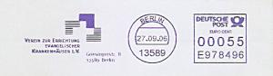 Freistempel E978496 Berlin - Verein zur Errichtung evangelischer Krankenhäuser e.V. (#746)