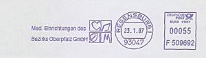 Freistempel F509692 Regensburg - Med. Einrichtungen des Bezirks Oberpfalz GmbH (#755)