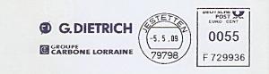 Freistempel F729936 Jestetten - G. DIETRICH - Groupe Carbone Lorraine (#757)