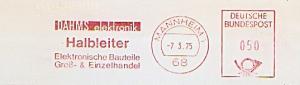 Freistempel Mannheim - DAHMS elektronik / Halbleiter - Elektronische Bauteile - Groß- & Einzelhandel (#788)