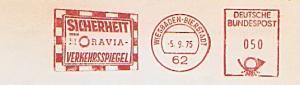Freistempel Wiesbaden - Bierstadt / Sicherheit durch MORAVIA - Verkehrsspiegel (Abb. Verkehrsspiegel) (#789)