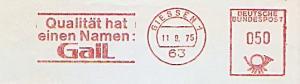 Freistempel Giessen - Qualität hat einen Namen: GaiL (#790)