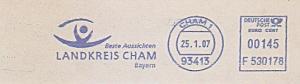 Freistempel F530178 Cham - Landkreis Cham Bayern - Beste Aussichten (#793)