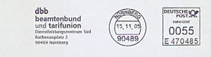 Freistempel E470485 Nürnberg - dbb beamtenbund und tarifunion (#796)