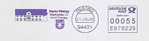 Freistempel E976229 Pilsting - Markt Pilsting (Abb. Rathaus / Wappen) (#812)