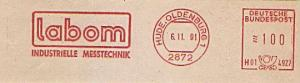 Freistempel H01 4927 Hude, Oldenburg - labom - Industrielle Messtechnik (#819)