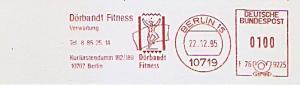 Freistempel F76 9225 Berlin - Dörbandt Fitness - Verwaltung (Abb. Sportler) (#830)