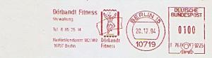 Freistempel F76 9225 Berlin - Dörbandt Fitness - Verwaltung (Abb. Sportler) (#831)