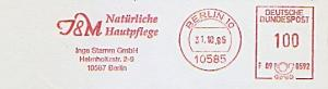 Freistempel F09 0592 Berlin - Inge Stamm GmbH - I&M Natürliche Hautpflege (#834)