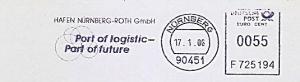 Freistempel F725194 Nürnberg - Hafen Nürnberg Roth GmbH - Port of logistic - Port of future (#838)