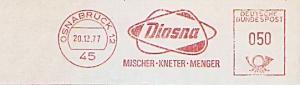 Freistempel Osnabrück - Diosna - Mischer Kneter Menger (#866)