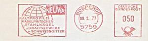 Freistempel Bösperde - NEUWA - Kaltprofile Kabelpritschen Stahlnägel Drahtgewebe Schweissgitter (#873)