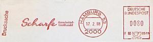 Freistempel F66 0511 Hamburg - Scharfe Arzneimittel Großhandel (#875)