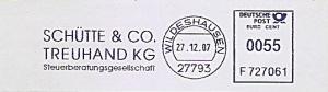 Freistempel F727061 Wildeshausen - Schütte & Co. Treuhand KG - Steuerberatungsgesellschaft (#891)