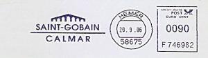Freistempel F746982 Hemer - Saint-Gobain Calmar (#979)