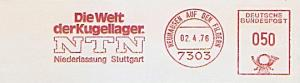 Freistempel Neuhausen auf den Fildern - NTN - Die Welt der Kugellager - Niederlassung Stuttgart (#984)