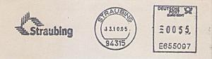 Freistempel E655097 Straubing - Straubing (#986)