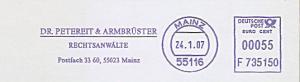 Freistempel F735150 Mainz - Rechtsanwälte Dr. Petereit & Armbrüster (#992)
