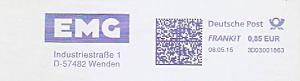 Freistempel 3D03001863 Wenden - EMG (#994)