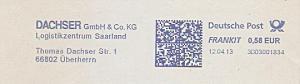 Freistempel 3D03001834 Überherrn - DACHSER Logistikzentrum Saarland (#996)