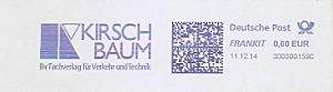 Freistempel 3D0300159C - KIRSCHBAUM Ihr Fachverlag für Verkehr und Technik (#1010)