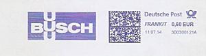 Freistempel 3D0300121A BUSCH (#1016)