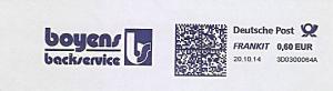 Freistempel 3D0300064A - boyens backservice (#1019)