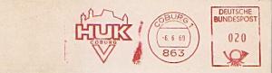 Freistempel Coburg - HUK COBURG (#1057)