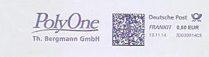 Freistempel 3D030014C3 - PolyOne - Th. Bergmann GmbH (#1074)