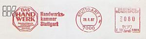 Freistempel E10 9809 Stuttgart - Handwerkskammer Stuttgart - Das Handwerk - Deutschlands vielseitigster Wirtschaftsbereich (#1076)