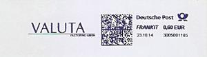 Freistempel 3D05001185 - VALUTA Factoring GmbH (#1131)