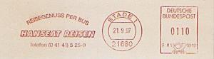 Freistempel F81 1010 Stade - HANSEAT REISEN - Reisegenuss per Bus (#1160)
