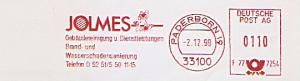 Freistempel F77 7254 Paderborn - JOLMES Gebäudereinigung u. Dienstleistungen / Brand- und Wasserschadensanierung (Abb. Waschbär) (#1163)