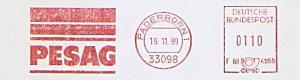 Freistempel F68 4955 Paderborn - PESAG  (#1165)