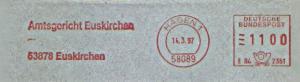 Freistempel E84 2351 Hagen - Amtsgericht Euskirchen (#1168)
