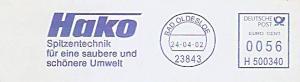 Freistempel H500340 Bad Oldesloe - Hako - Spitzentechnik für eine saubere und schönere Umwelt (#1173)